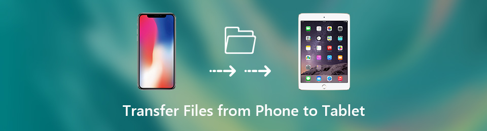 Transfer files form phone to tablet