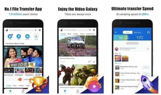 Transfer Pictures between iPhone to Android Using SHAREit