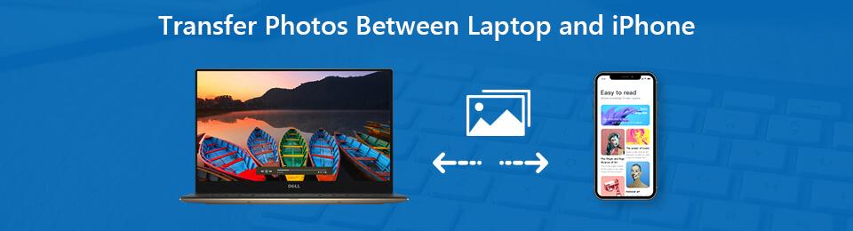 overfør fotos mellem laptop og iphone