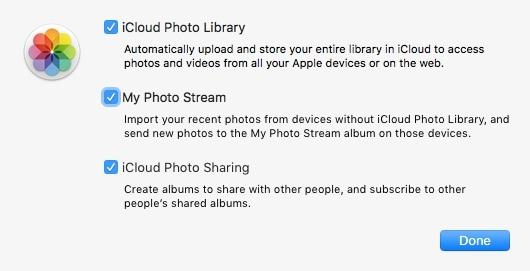 打開icloud照片庫