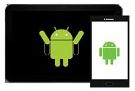 Διακεκομμένη εξαγωγή δεδομένων Android