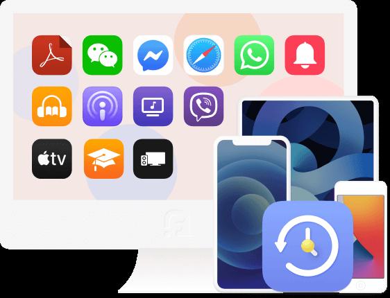 Backup af iOS-datafunktion