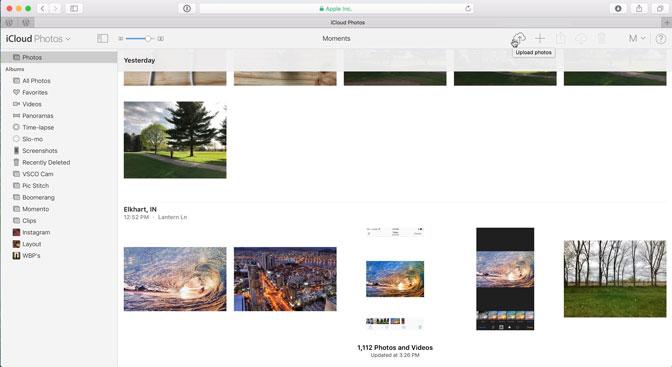 Comment sauvegarder des photos iPad iCloud Photos