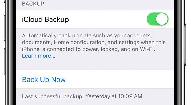 Jak zálohovat data na iPhone s icloud