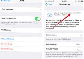 Chat-Sicherung