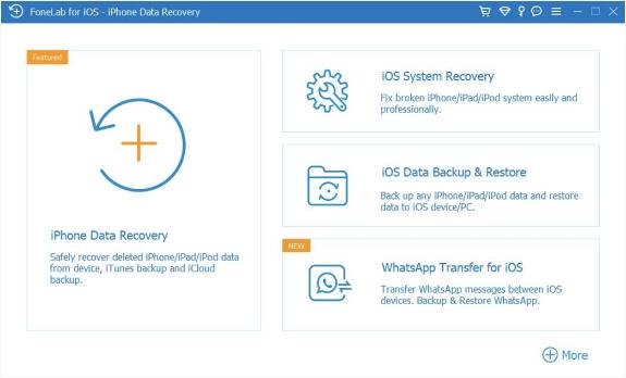 vælg ios data backup gendannelse