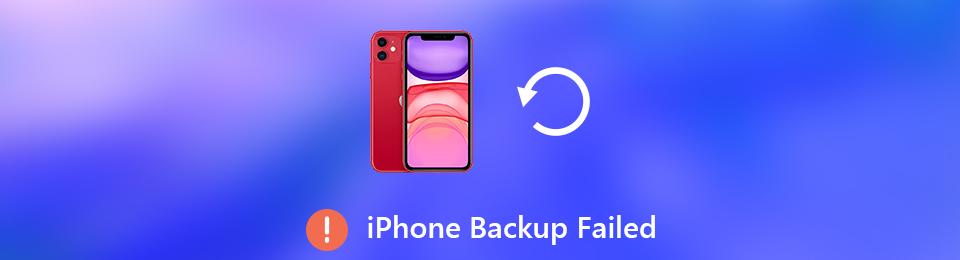 Échec de la sauvegarde de l'iPhone