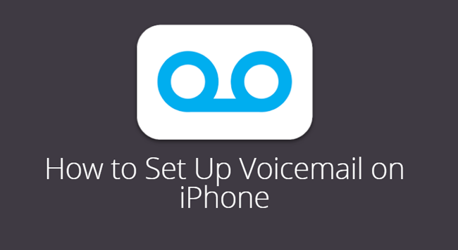 IPhone Voicemail sichern