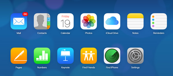 icloud Seite