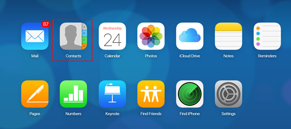 iCloud Synce Contactos