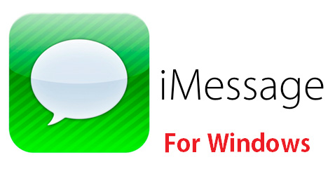 iMessage pour Windows PC