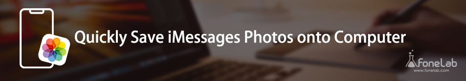 Enregistrer des photos iMessages sur un ordinateur