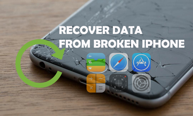 recuperar datos del iphone roto