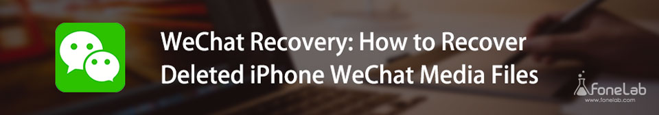 Recuperar archivos multimedia borrados de WeChat del iPhone