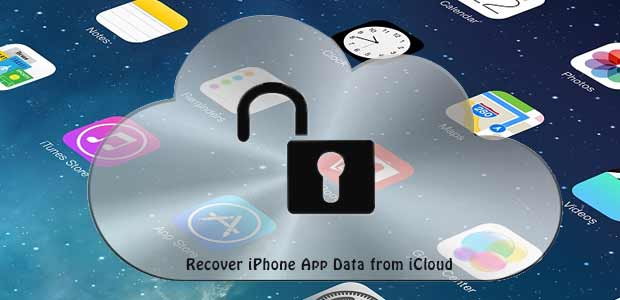recuperar dados de aplicativos do iphone do icloud