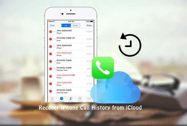 ανακτήσει το ιστορικό κλήσεων του iPhone από το icloud