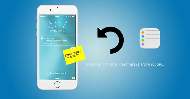 recover reminders from icloud