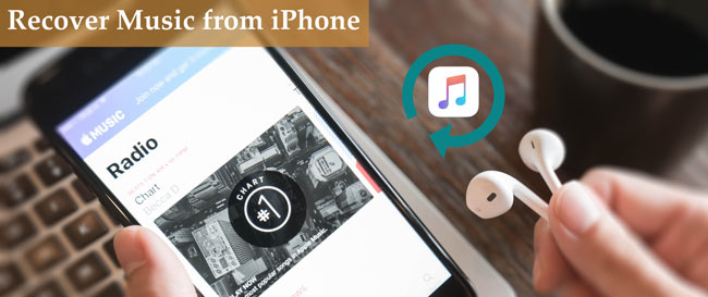 gjenopprette musikk fra iphone