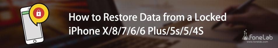 återställ data från låst iphone