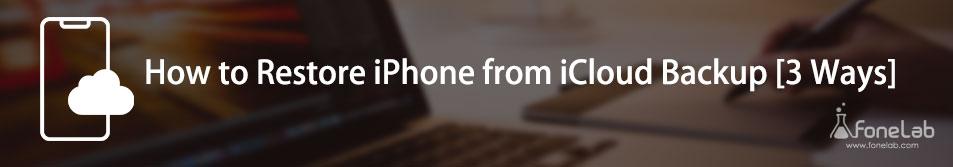 Backup iPhone til iCloud