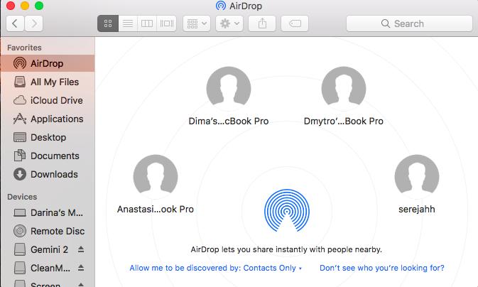 salvar arquivo de áudio via airdrop