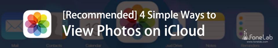 Δείτε φωτογραφίες iCloud