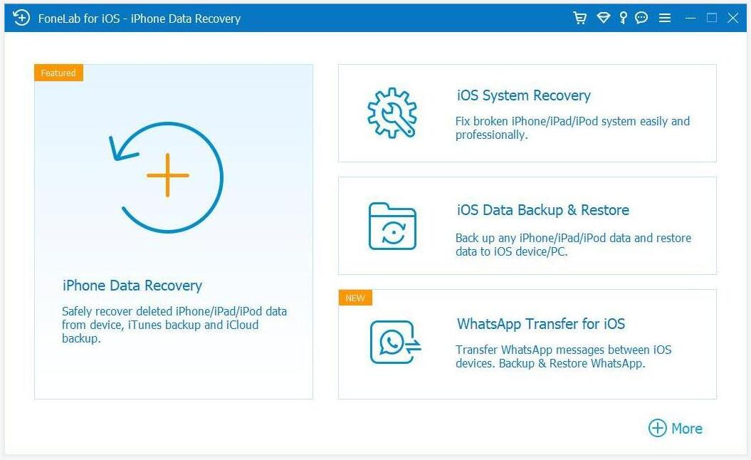 choose ios system recovery