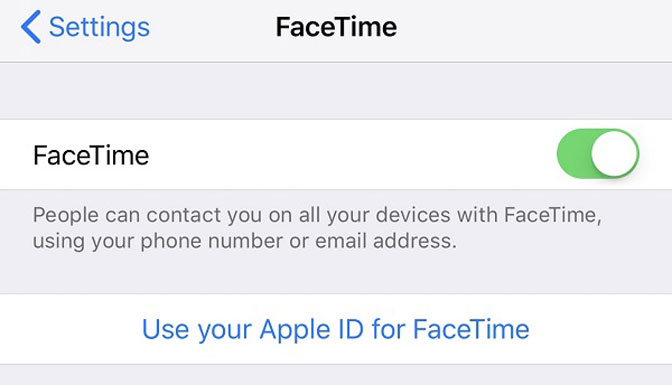 Reparar iPad FaceTime no funciona
