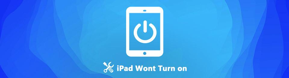 iPad nie włącza się