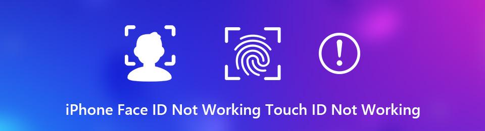 iPhone Face ID ou Touch ID ne fonctionne pas