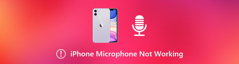 Le microphone de l'iPhone ne fonctionne pas