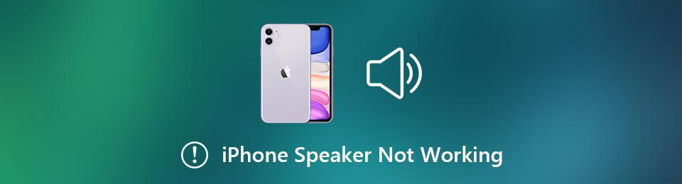 Napraw głośnik iPhone nie działa
