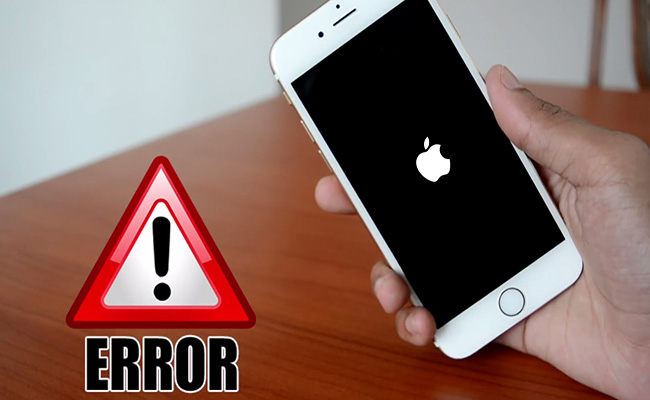 Reboot iPhone Error