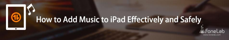 Przenieś muzykę na iPada