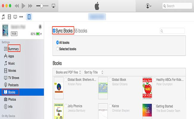 Ajouter un PDF à iBooks