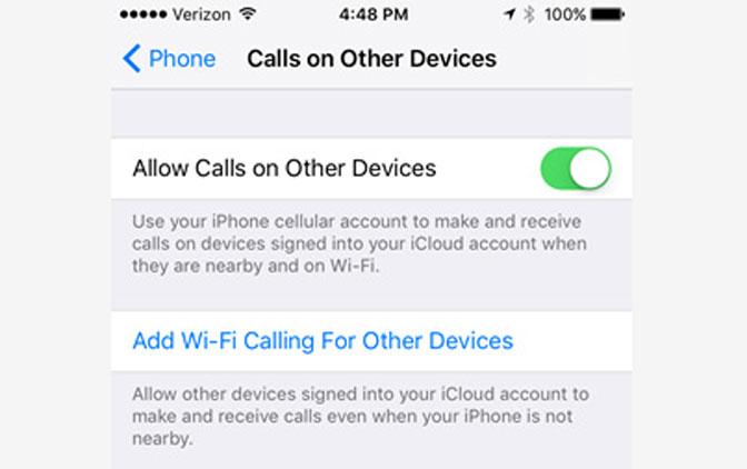 Hur man ringer från iPad-samtal tillåter enheter