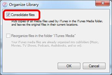 Dateien konsolidieren