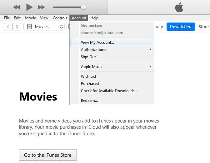 Hogyan lehet lekapcsolni az iPhone készüléket az iPad View Fiókról