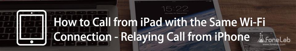 Hur man ringer från iPad