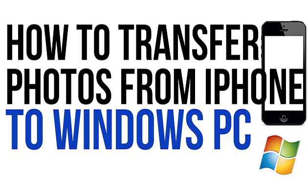 How to Transfer Pictures from iPhone to PC