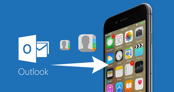 Importer des contacts Outlook sur iPhone