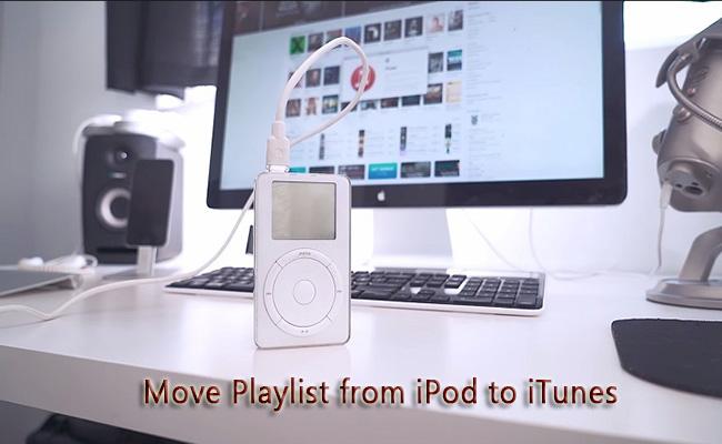Mozgassa a lejátszási listát az iPodról az iTunes-ra