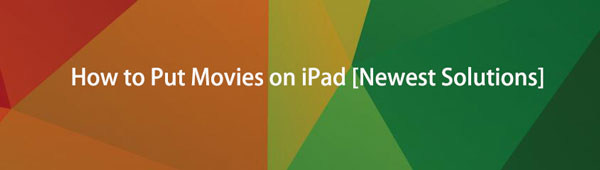 Sådan sættes film på iPad