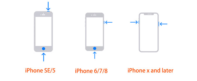 zrzut ekranu wiadomości iPhone