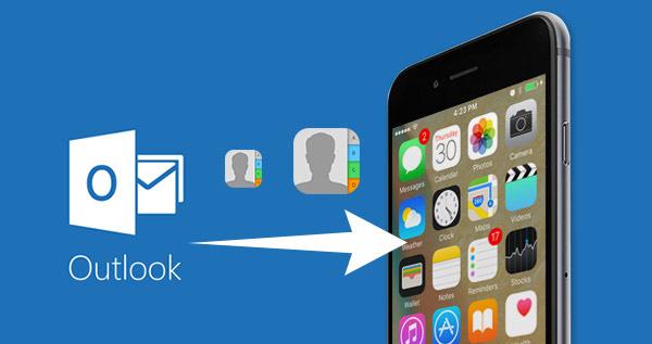 Az Outlook névjegyek szinkronizálása iPhone-on