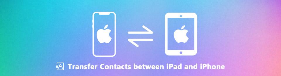 Överför kontakter mellan iPad och iPhone