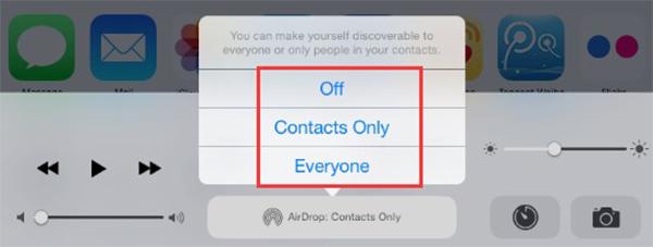 Synchronizuj dane iPad przez AirDrop