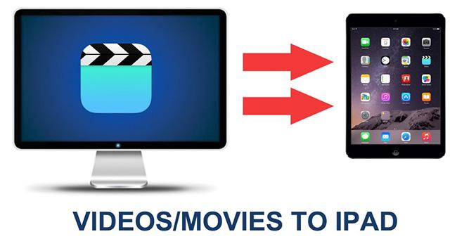 Overfør film til iPad