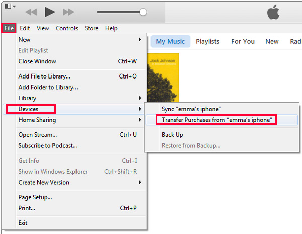 How to Transfer Purchases from an iPhone to iTunes (with ...