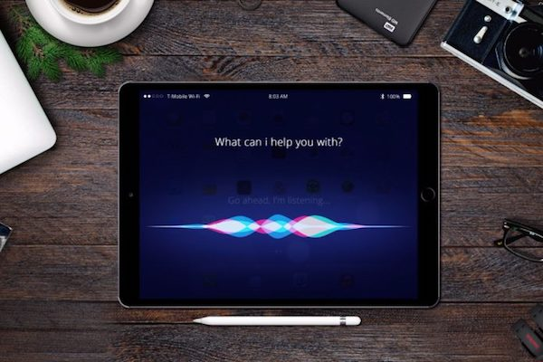 обойти пароль ipad с помощью Siri